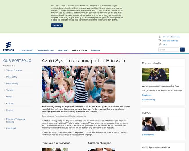 Azuki Systems