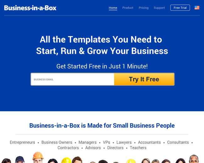 Business in a box on iterate studio business in a box cheaphphosting Image collections
