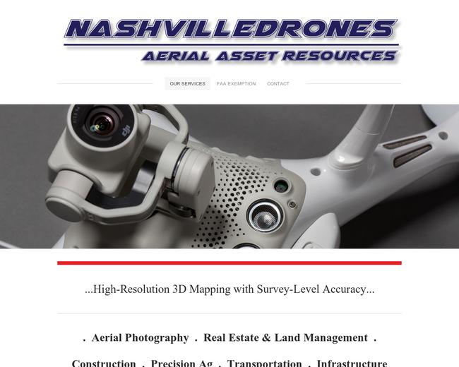Nashville Drones Aerial Asset Resources