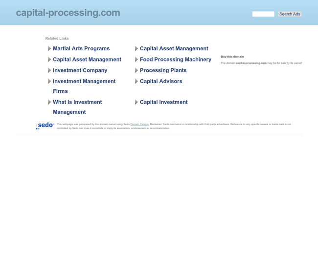 Capital Processing Int'l
