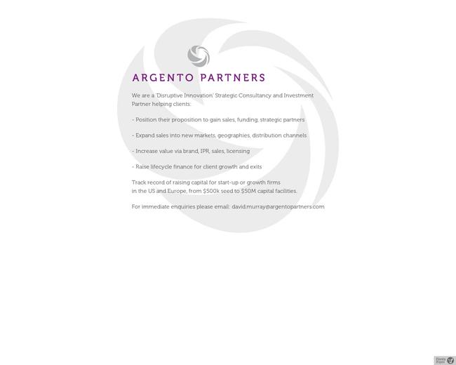 Argento Partners