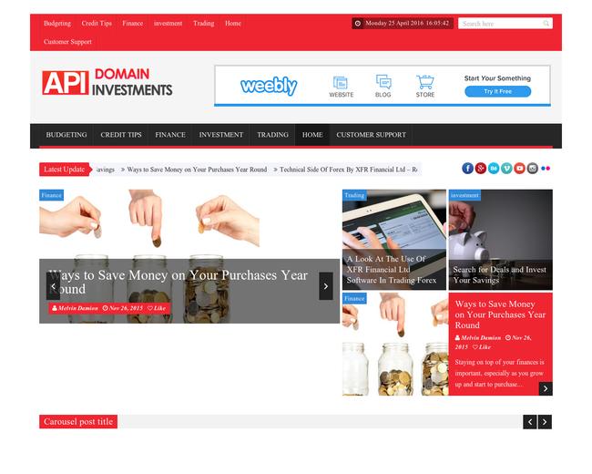 API Domain Investments