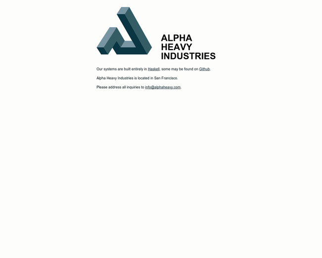 Alpha Heavy Industries