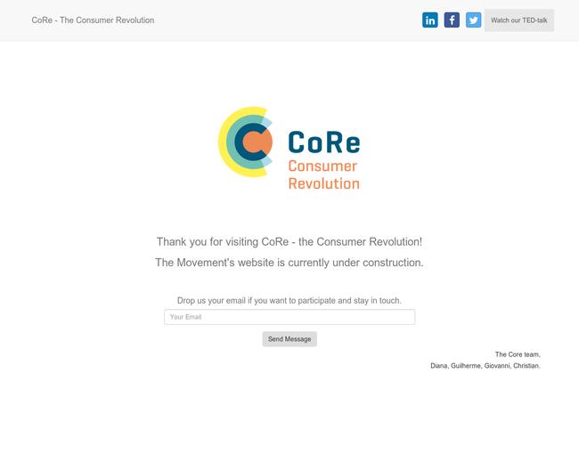 CoRe - Consumer Revolution