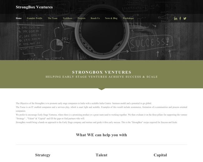 StrongBox Ventures