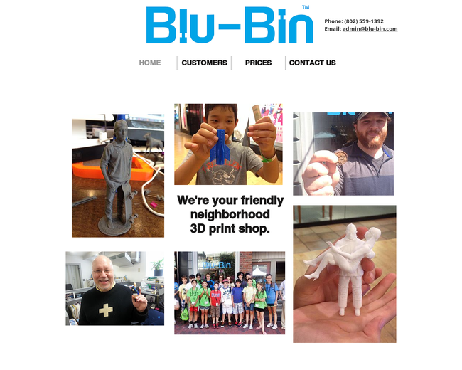 Blu-Bin (3D Print Shop Holdings)