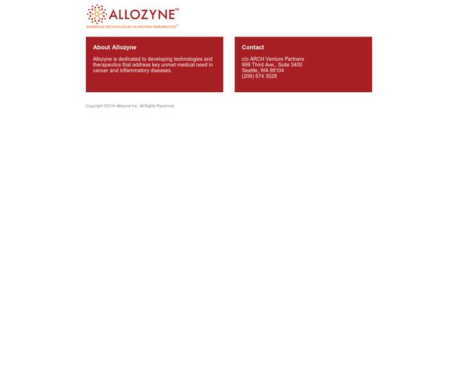 Allozyne