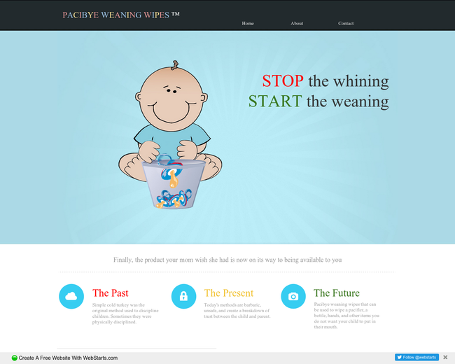 Pacibye Weaning Wipes