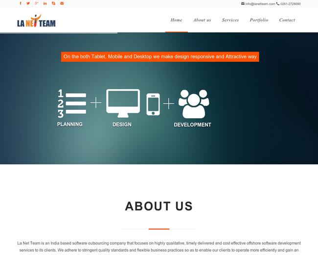 La Net Team Software Solution