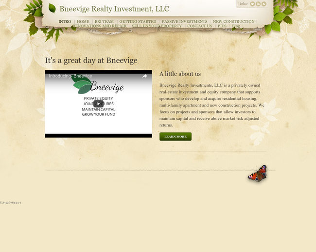Bneevige Realty Investments