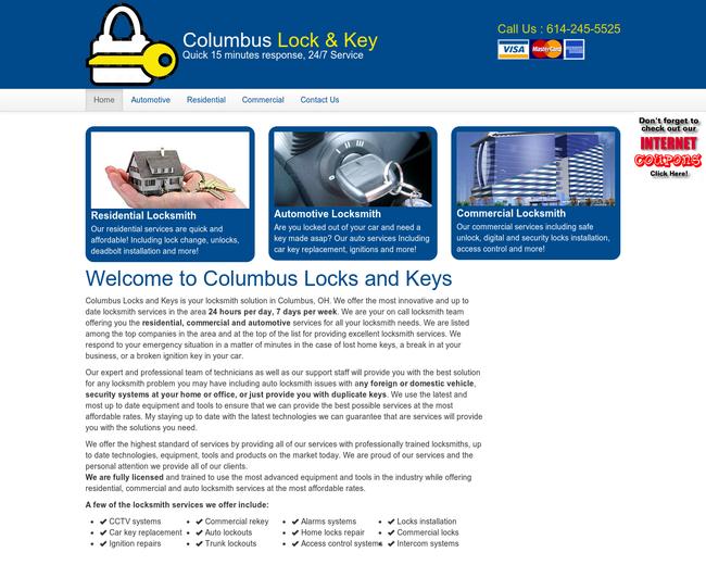 Columbus locks&keys