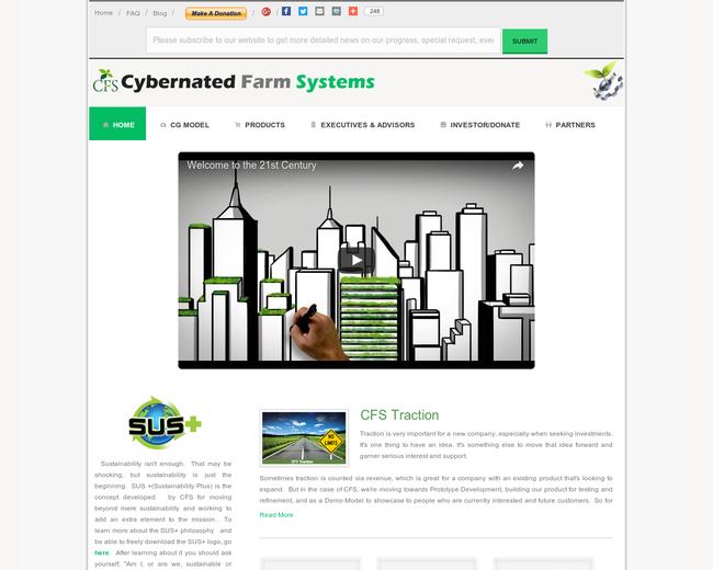 Cybernated Farm Systems