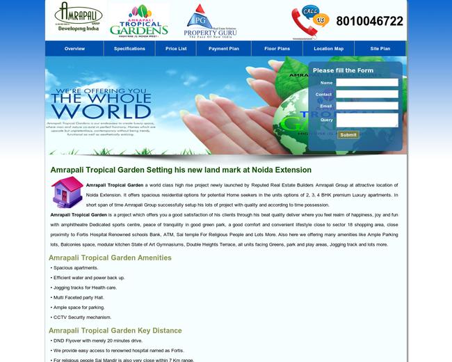Amrapali Tropical Gardens