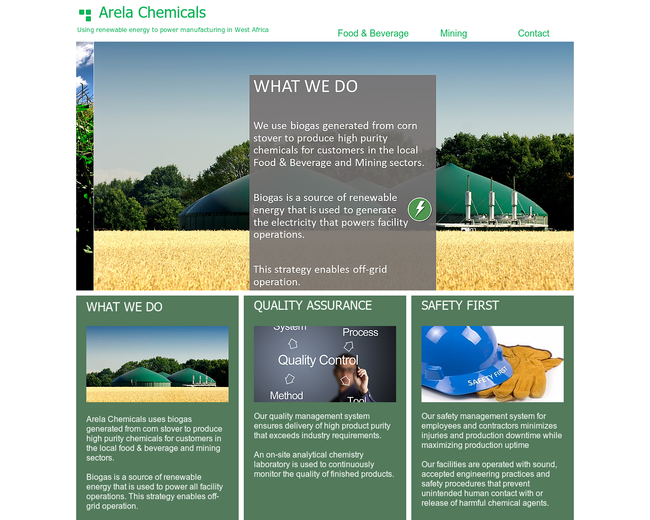 Arela Chemicals