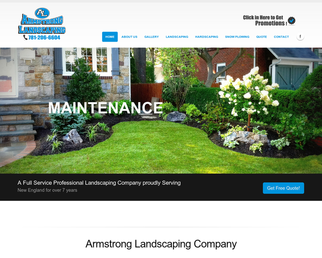 Amrstrong Landscaping & construction