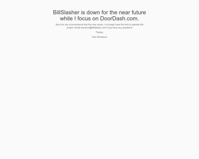 BillSlasher