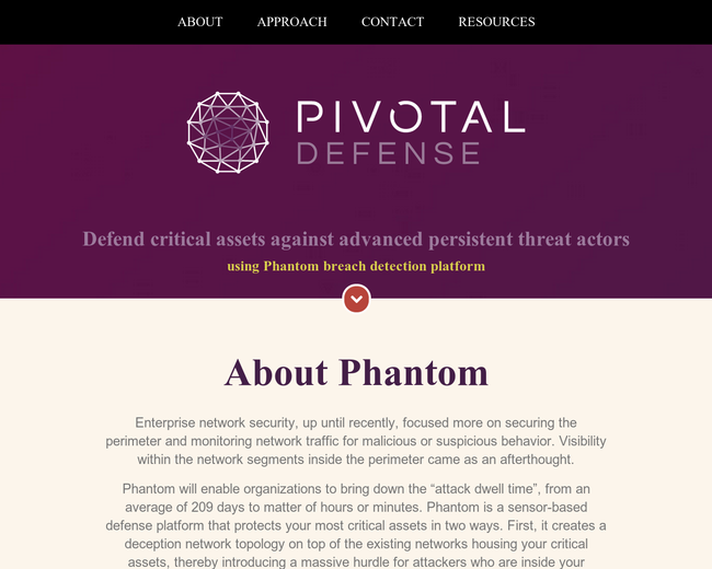 Pivotal Defense