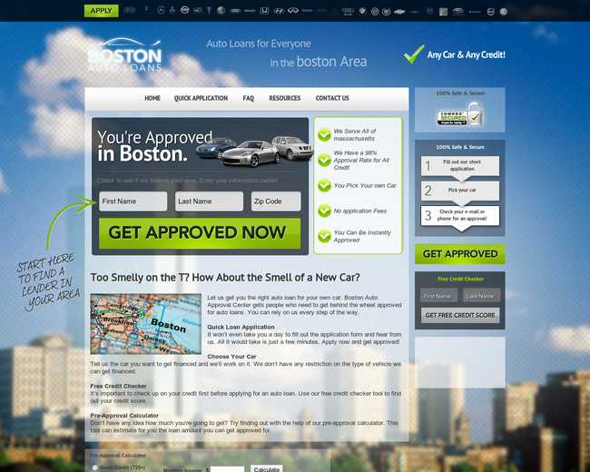 Boston Auto Loans