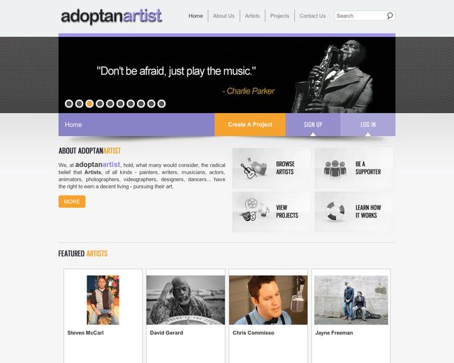 adoptanartist.net