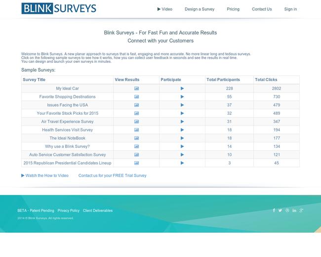 Blink Surveys