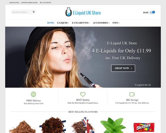 E-Liquid UK Store