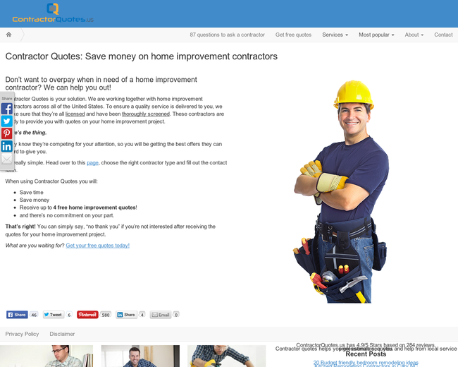Contractor Quotes