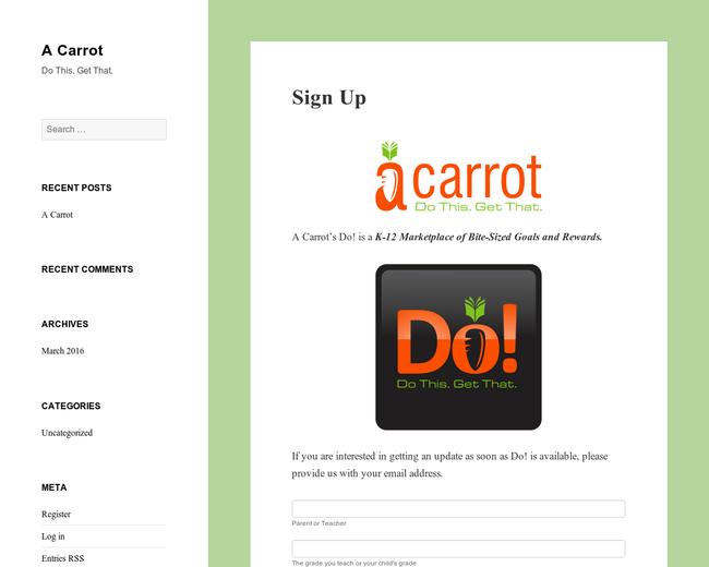 A Carrot, Inc.