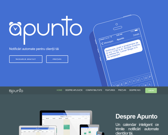 Apunto - appointment reminders