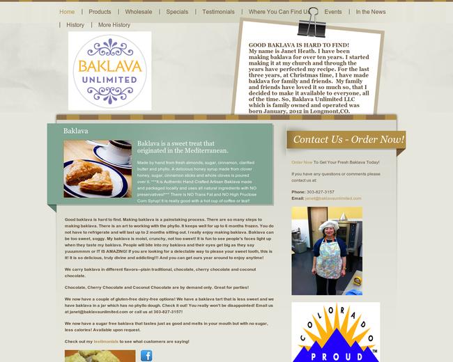Baklava Unlimited