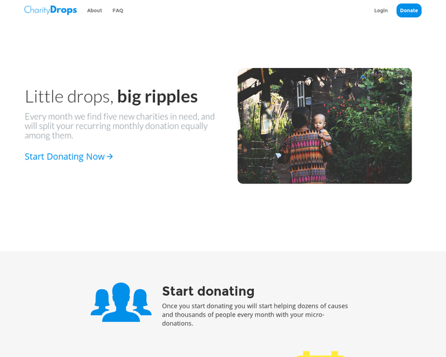 CharityDrops