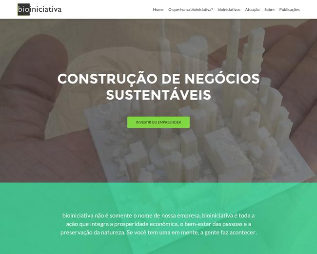 bioiniciativa - Estratégias Sustentáveis