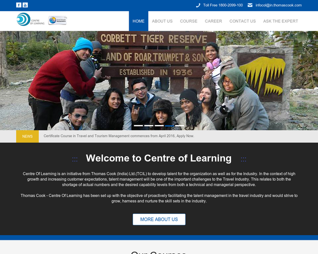 Center of Learning Thomas Cook