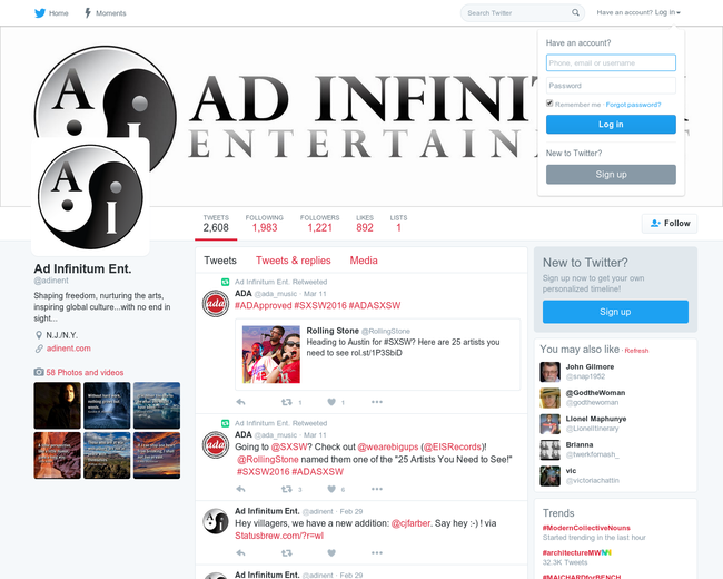 Ad Infinitum Entertainment