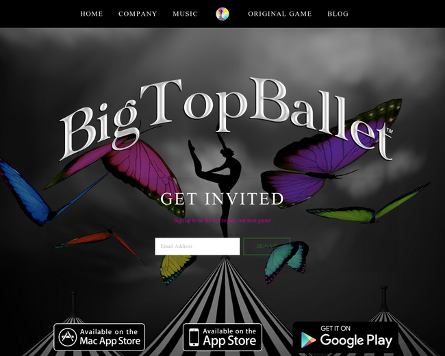 Big Top Ballet Inc.