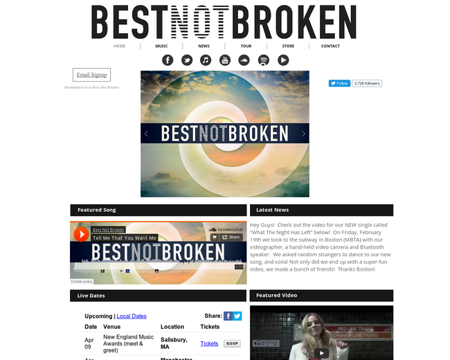 Best Not Broken