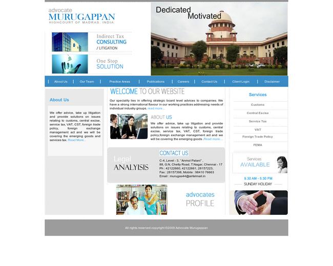 Advocate Murugappan