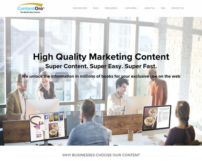 ContentOro, Inc