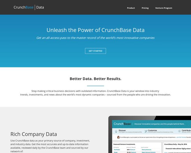 Crunchbase Data API