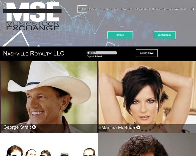 MusicStockExchange