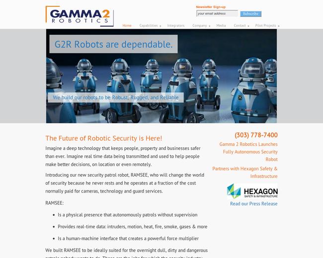 Gamma 2 Robotics