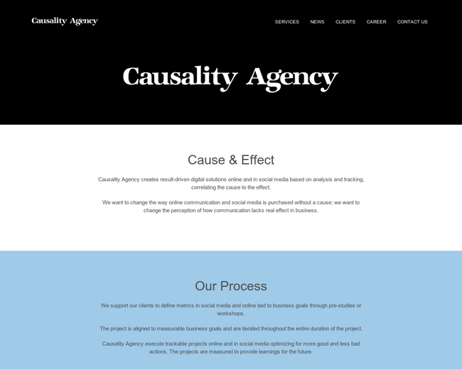 Causality Agency