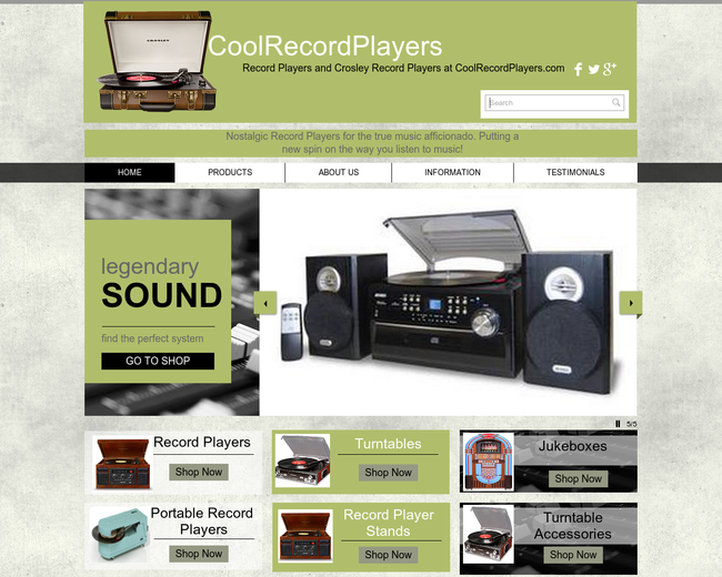 Cool Record Players