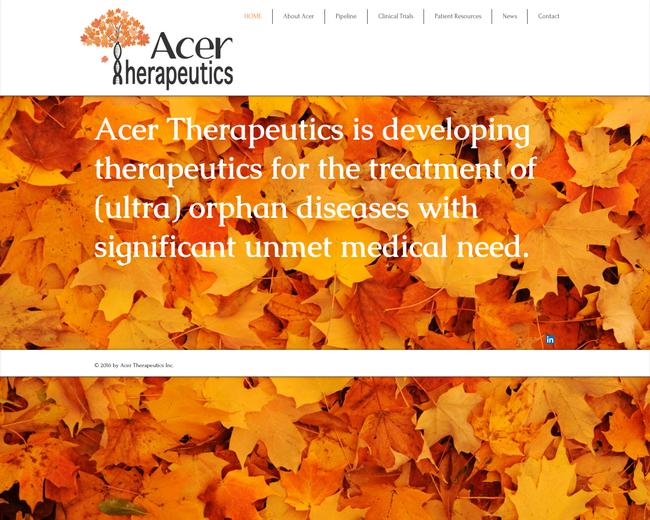 Acer Therapeutics