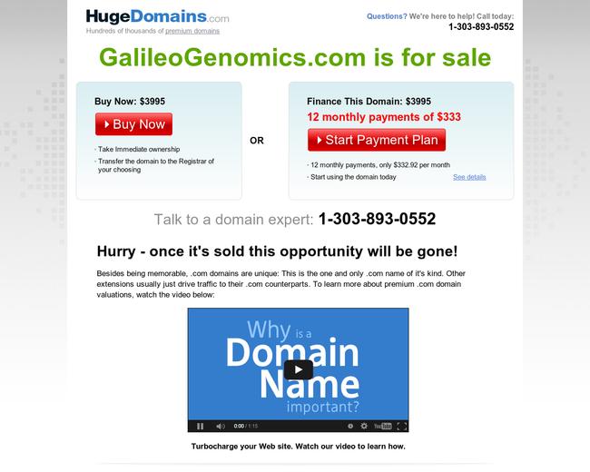 Galileo Genomics