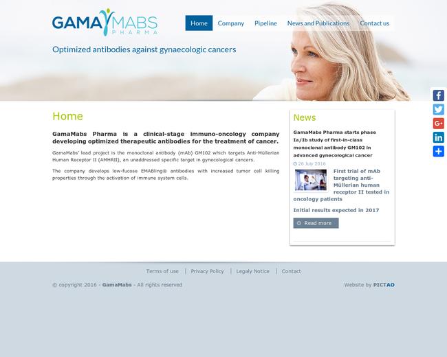 GamaMabs Pharma