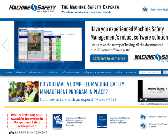 Machine Safety Manangement