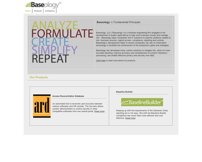 Baseology