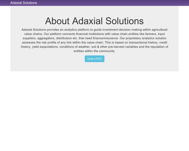 Adaxial Solutions