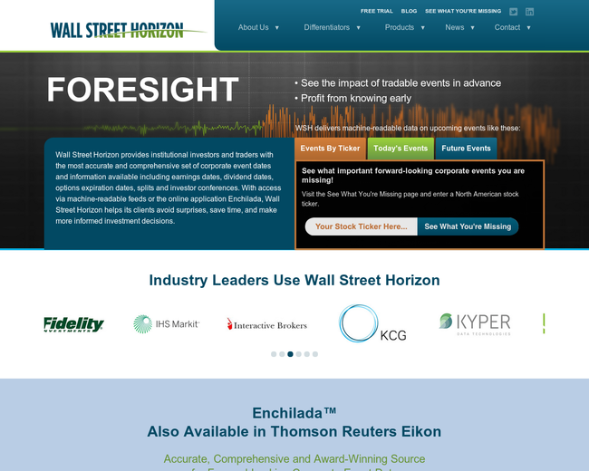 Wall Street Horizon