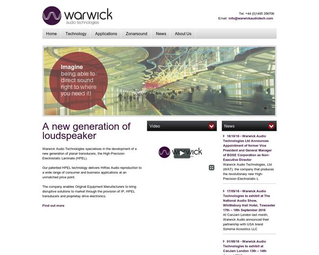 Warwick Audio Technologies